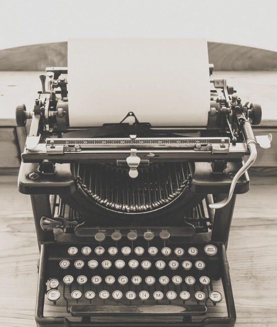 Old Vintage Typewriter